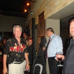 Friends and Fans gather at Crush Wine Bar