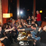 Fans and Friends celebrate with Daniel and Yelba at Kirbys