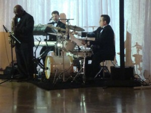Daniel Trio playing at The Coutillion Dance