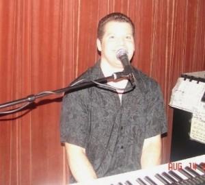 Daniel singing at Kirbys