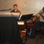 Playing at PM Bistro with Byron