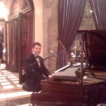Daniel playing at private function