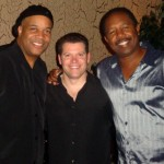 Daniel with musicians Duane and Jimmy