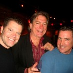 Daniel with musicians John Carney and Roy Heaton