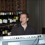 Daniel playing at Crush Wine Bar