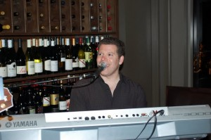 Daniel playing at Crush Wine Bar