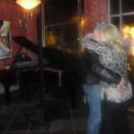 Frank and Bo dancing at Amerigos Grille
