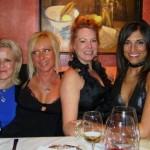 Diana, Catherine, Erika, Wendy New Year's Eve