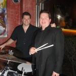 Daniel Blanchard performing with Joe Lenzo
