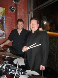Daniel Blanchard performing with Joe Lenzo
