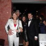 Geoff, Ellen, Wendy enjoy Daniel's quartet on New Year's Eve